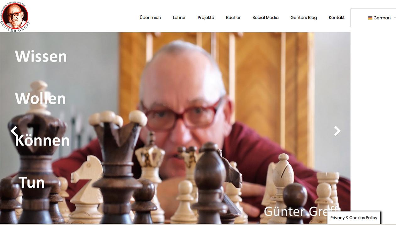 Günter Greff, Corporate Consultant, Germany