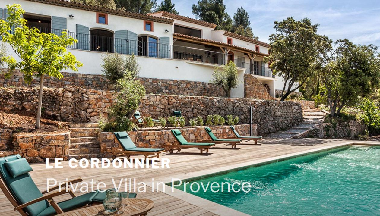 Le Cordonnier, Villa Rental, France
