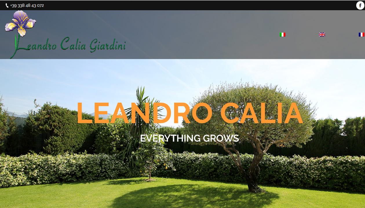 Leandro Calia, Gardener, Italy