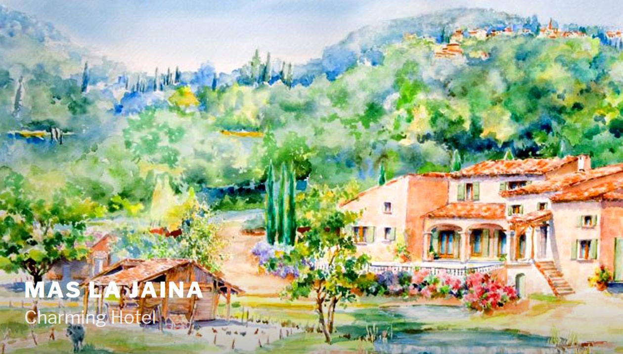 Mas La Jaïna, B&B, France