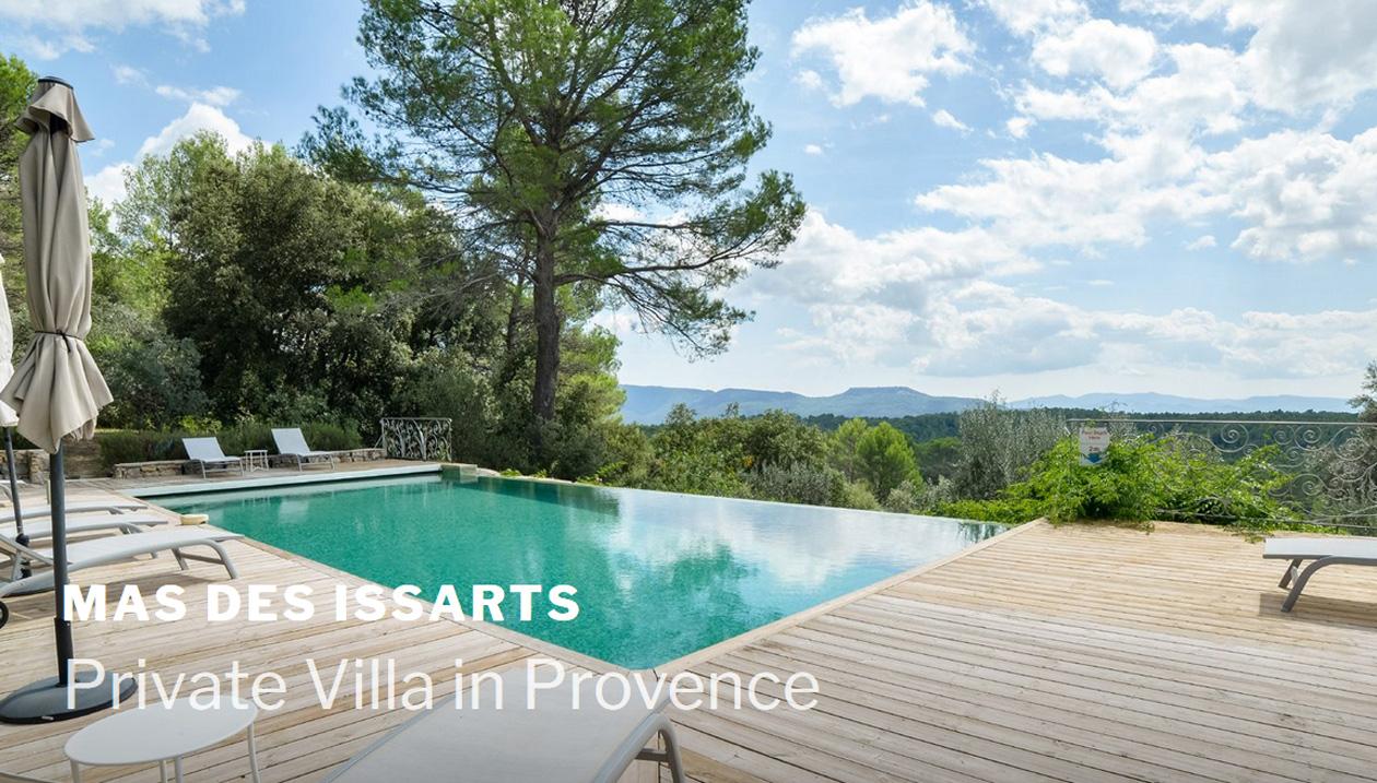 Mas des Issarts, Villa Rental, France