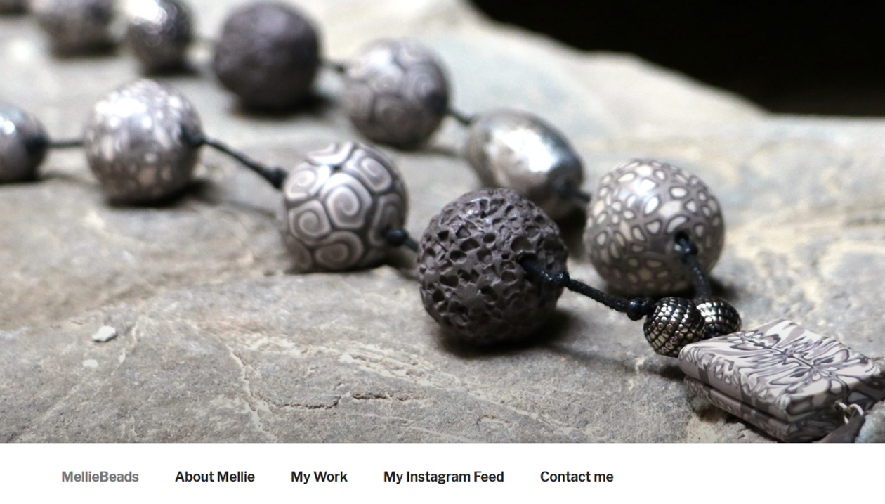 Mellie Beads, Polymer and Clay Jewellery, England