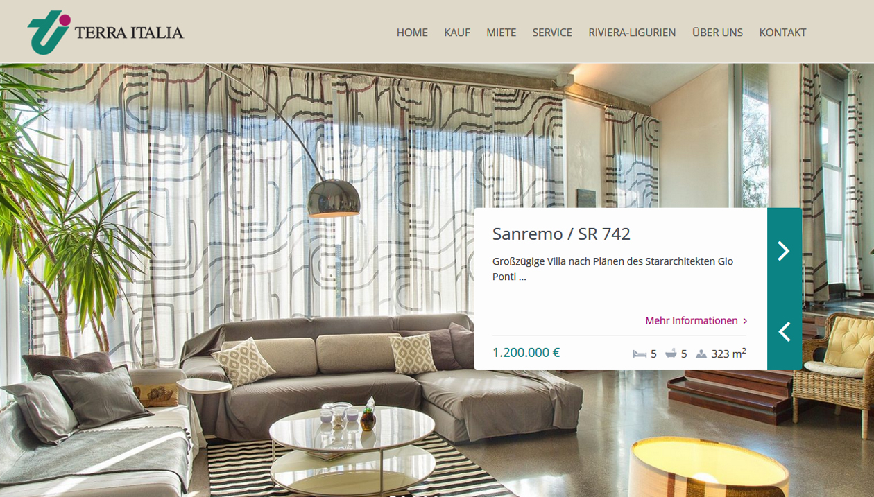Terra Italia, Real Estate Agency, Italy