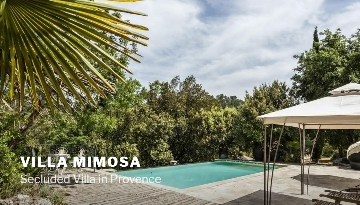 Villa Mimosa, Villa Rental, France