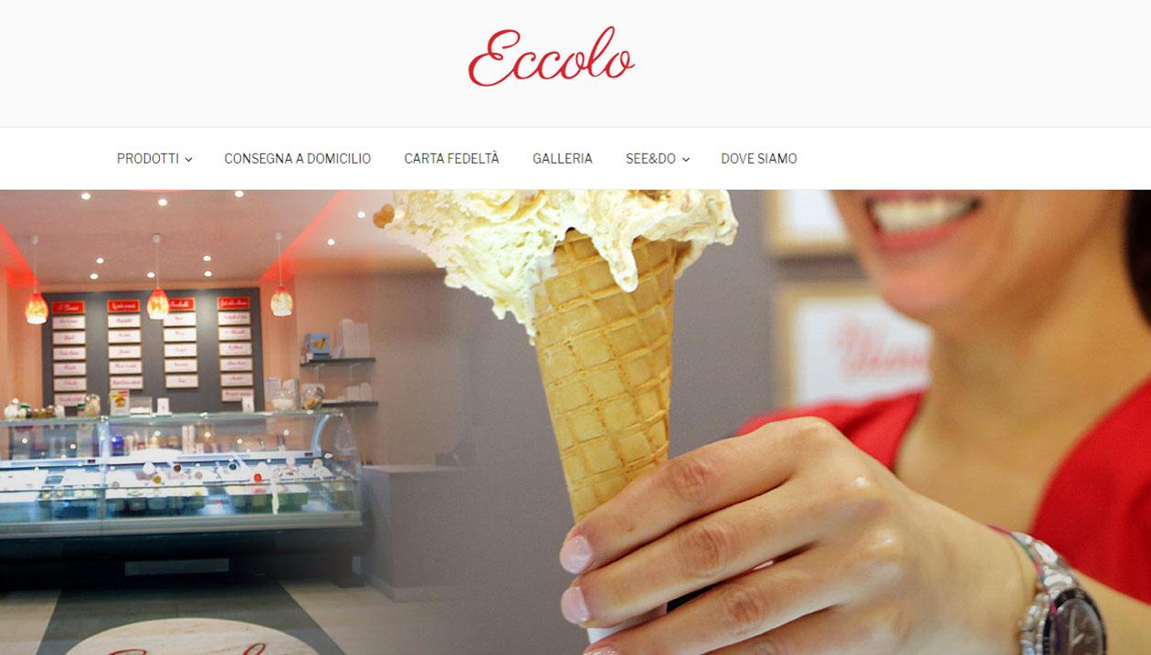Eccolo, Ice Cream shop in Bordighera, Italy