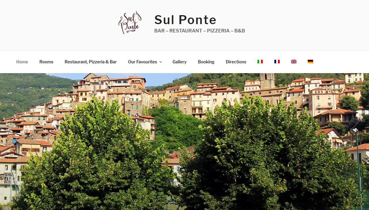 Sul Ponte, Restaurant and B&B in Pigna, Italy