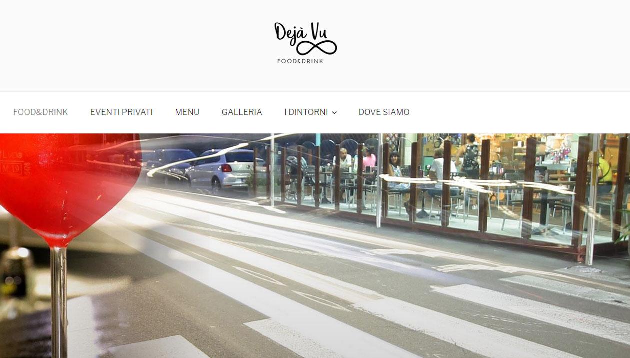 Deja Vu Food&Drinks, Bar & Restaurant, Italy