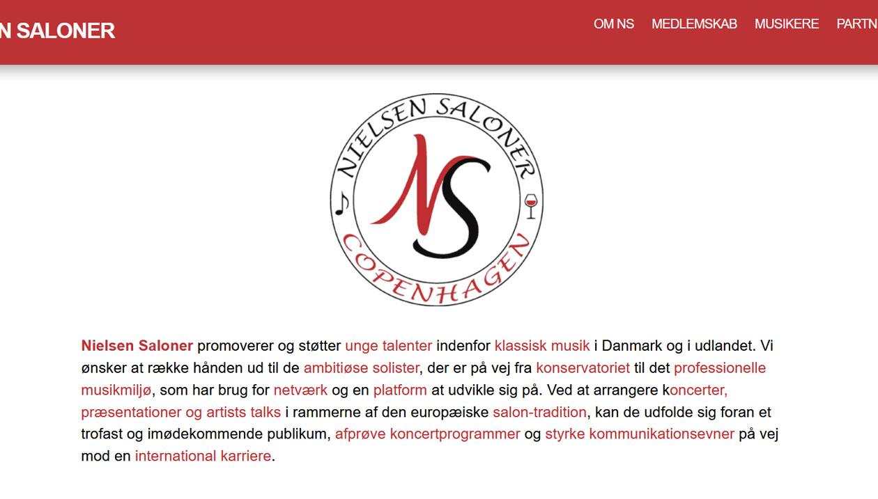 Nielsen Saloner, Classical Music Organization, Denmark