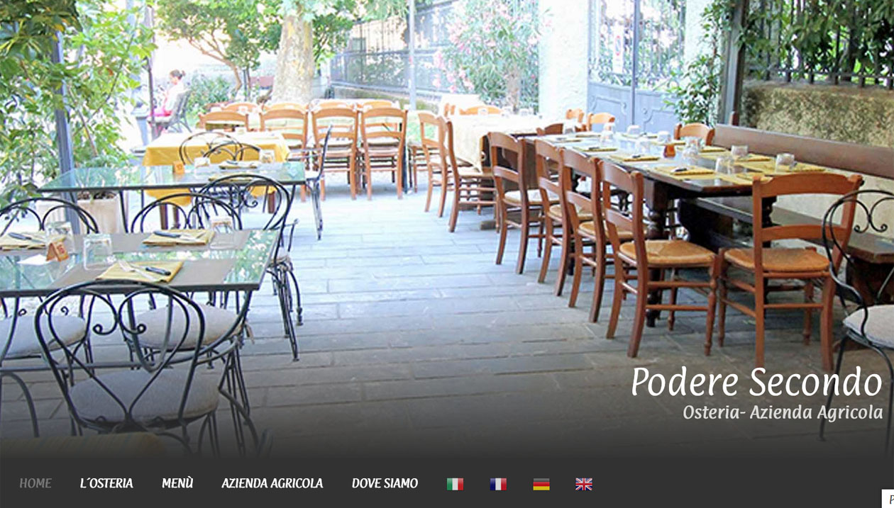 Podere Secondo - Restaurant and Olives - Italy